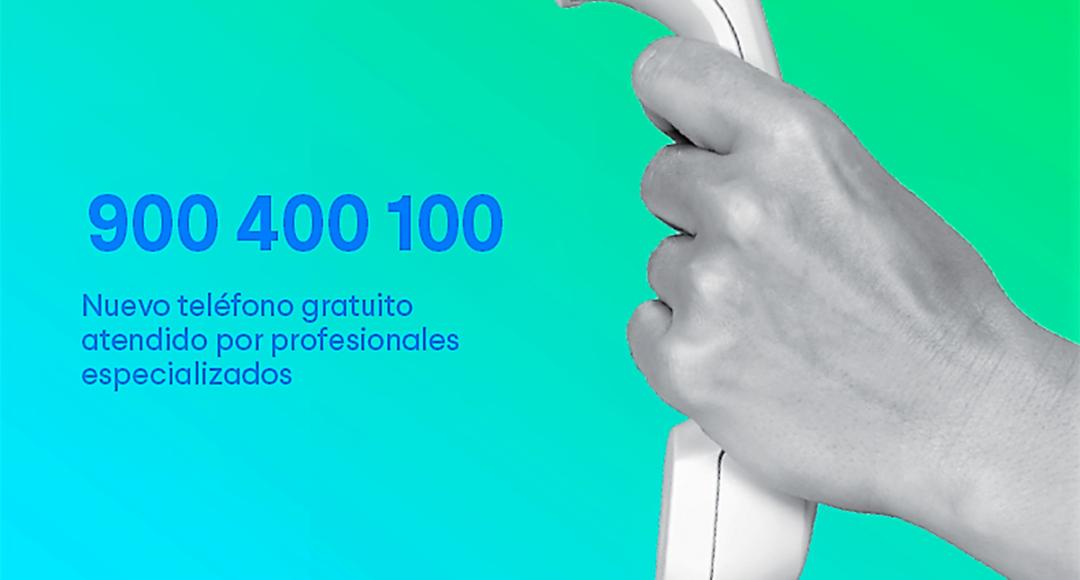 Nuevo teléfono de Atención al Paciente: 100% gratuito y asistencial