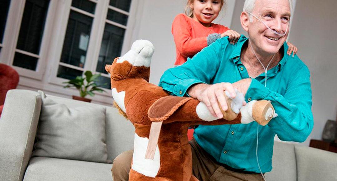 Oxigenoterapia domiciliaria